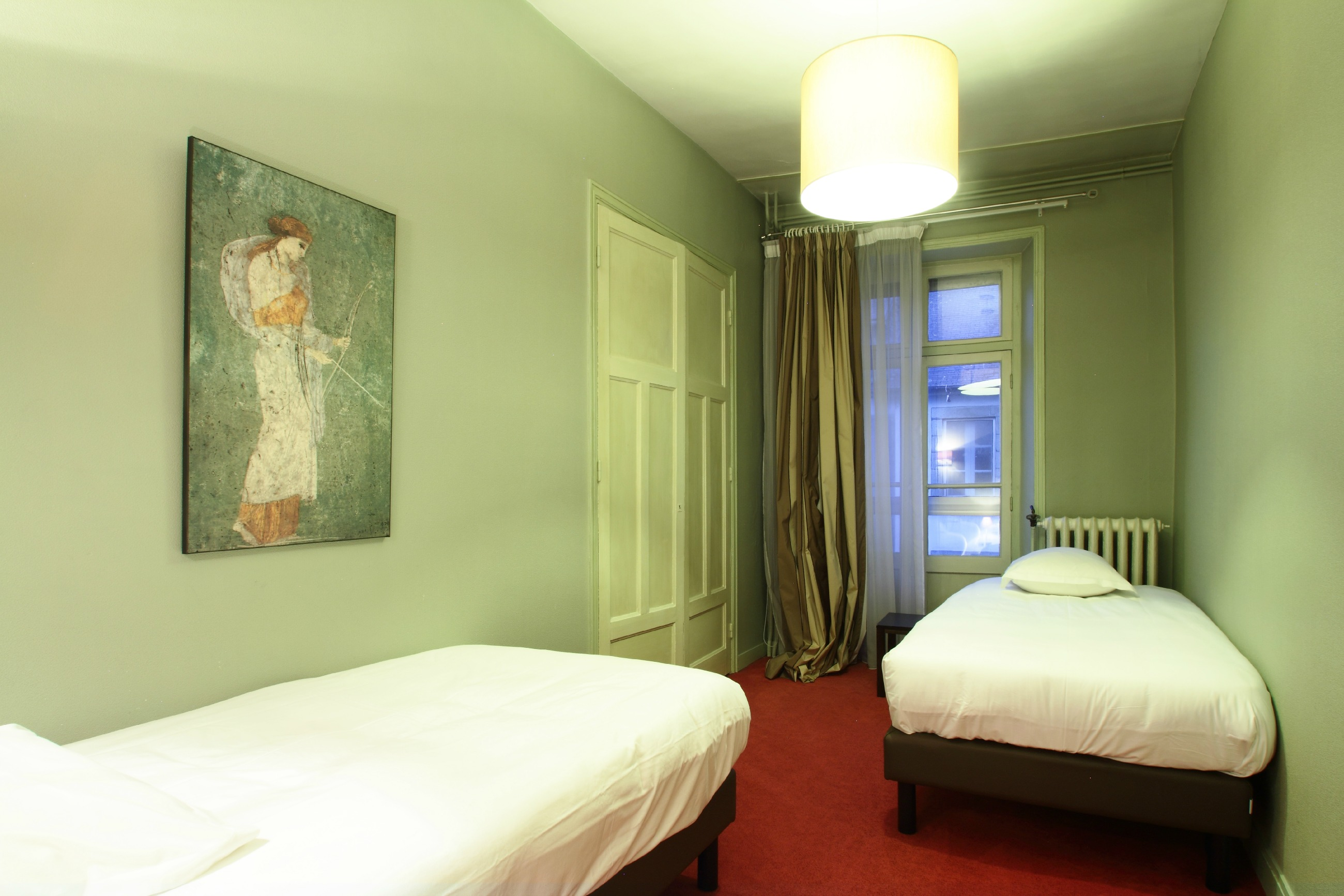 Junior Suite n°229, la chambre twin